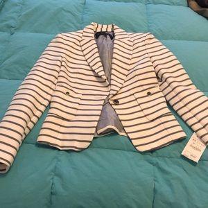 Striped Zara Blazer- Never Worn
